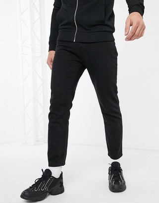 Religion Kick straight fit jeans in black