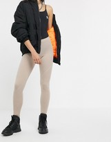 adidas A2K trefoil leggings in khaki