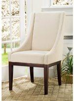 Safavieh En Vogue Dining Soho Creme Arm Chair Linen