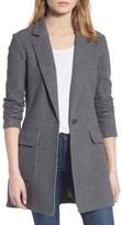 James Perse Women's Brushed Fleece Long Jacket
