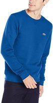 Lacoste Men's Brushed Fleece Crew Neck Sweatshirt
