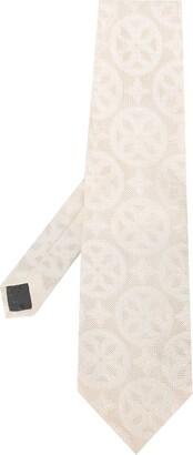 Gianfranco Ferré Pre Owned 1990s Geometric Print Tie