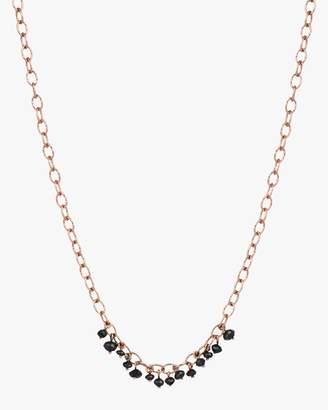 Kismet By Milka Black Diamond Necklace
