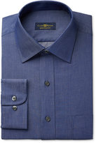 Club Room Estate Men's Classic-Fit Wrinkle-Resistant Irish Shadow Solid Dress Shirt, Only at Macy's