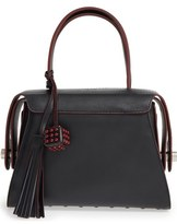 Tod's 'Twin' Leather Satchel