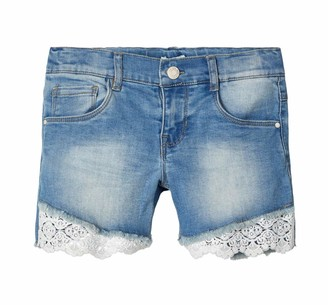 Name It Girl's Nkfsalli Dnmbanni1340 Shorts
