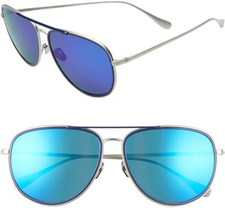 Maui Jim Fair Winds 58mm Polarized Navigator Sunglasses