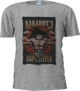 NisabellaLTD Son Goku Kakarot's GYM Dragon Ball Novelty Men Women Unisex Top T Shirt-L