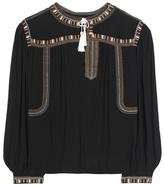Etoile Isabel Marant Isabel Marant, Étoile Cabella embroidered blouse
