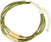 Fragments for Neiman Marcus Multi-Row Cord Bracelet, Olive