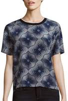 Opening Ceremony Medallion Print Silk Top