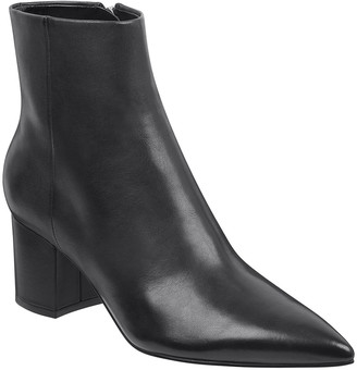 Marc Fisher Jarli Leather Booties