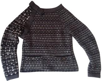Chanel Black Wool Knitwear
