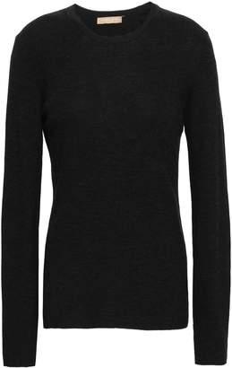 Michael Kors Ribbed Merino Wool Sweater