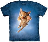 The Mountain Blue Pouncing Kitten Peeps Tee - Unisex