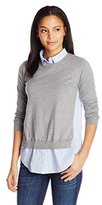 French Connection Women's Mix It Knits Sweater