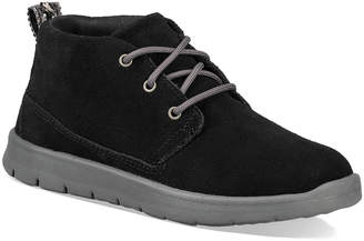 UGG Casual boots BLACK - Black Canoe Suede Ankle Boot - Kids