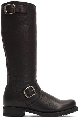 Frye Women's Casual boots - Black Veronica Slouch Leather Boot - Women