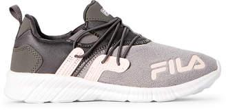 Fila Grey & Pink Dogwood Heatfuse Running Sneakers