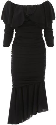 Dolce & Gabbana Charmeuse Midi Dress