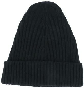 Maison Margiela Ribbed Knitted Hat