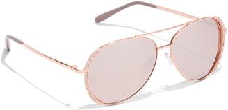New York & Co. Rhinestone Aviator Sunglasses