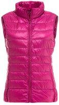 YOUJIA Women's Ultra Light Weight Down Jacket Puffer Down Vest Coat (, L)