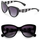Steve Madden 57mm Cats-Eye Sunglasses