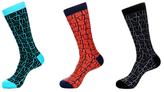 Jared Lang Abstract Socks (3 PK)