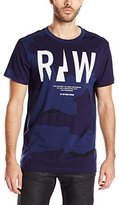 G Star Men's Rowack R T Short Sleeve Tees