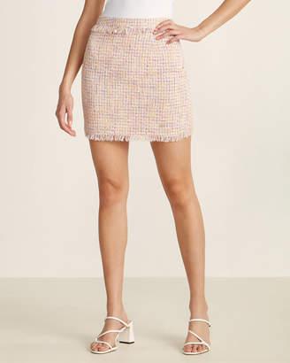 Gaudi' Gaudi Frayed Trim Mini Skirt