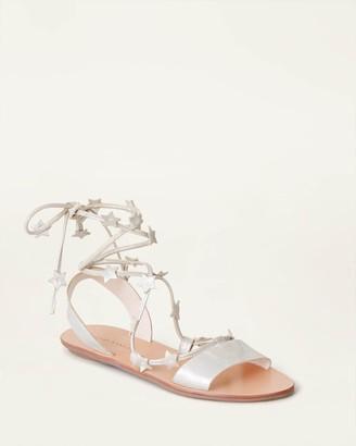 Loeffler Randall Starla Ankle Wrap Sandal Sugar