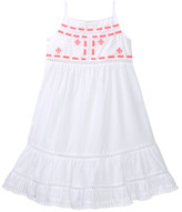 Design History Embroidered Maxi Dress (Toddler & Little Girls)