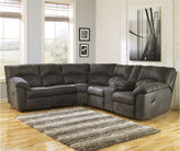 Signature Design by Ashley Tambo Reclining 2pc Sectional