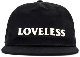 Rhude Loveless Hat in Black | FWRD