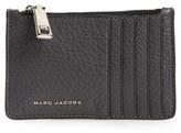 Marc Jacobs 'Wingman' Leather Zip Wallet