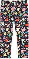Simonetta Rainbow Printed Cotton Jersey Leggings