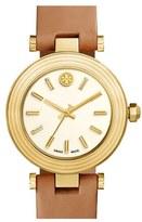 Tory Burch Women's Leather Strap Watch, 35Mm