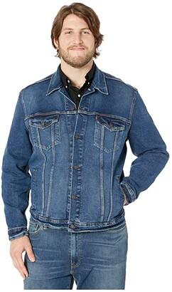 Levi's(r) Big & Tall Big Tall Trucker Jacket (Colusa Stretch) Men's Clothing