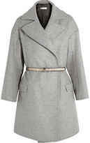 Golden Goose Deluxe Brand Belted Wool-Blend Coat