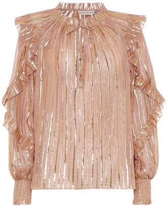 Ulla Johnson Lucinda silk-blend blouse