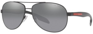 Prada Linea Rossa Polarized Sunglasses, Ps 53PS