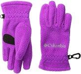 Columbia Fast Trek Glove (Kid) - Bright Plum - Large