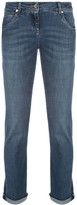 Brunello Cucinelli high rise straight-leg jeans