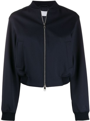 HUGO BOSS Cropped Bomber Jacket