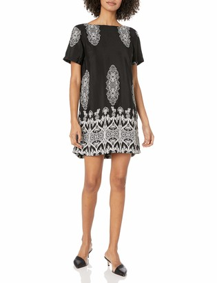 Lucy-Love Lucy Love Women's Charlotte Printed Dress