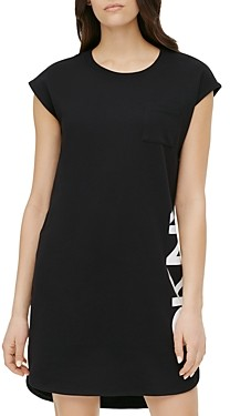 DKNY Cotton High/Low Dress