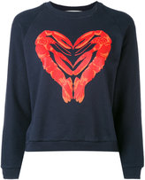 Peter Jensen lobster heart sweatshirt - women - Cotton - XS