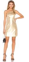 Motel Kate Dress in Metallic Gold