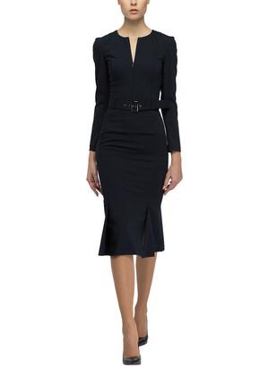 BGL Wool-Blend Mini Dress